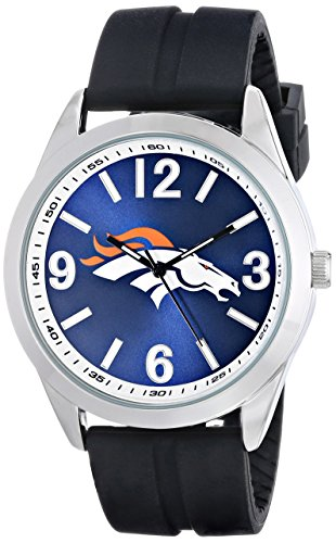 Game Time Men's NFL-VAR-DEN Varsity Watch - Denver (Denver Broncos Ladies Watch)