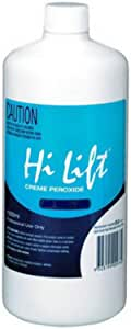 Hi Lift Peroxide 30 Vol 9% Hair Colouring Dye Tint Developer Colour 1 Litre,