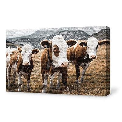 Guiding the Herd - Canvas Art