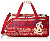 MLB St. Louis Cardinals Historical Art Duffel Bag, One Size Fits All, Red