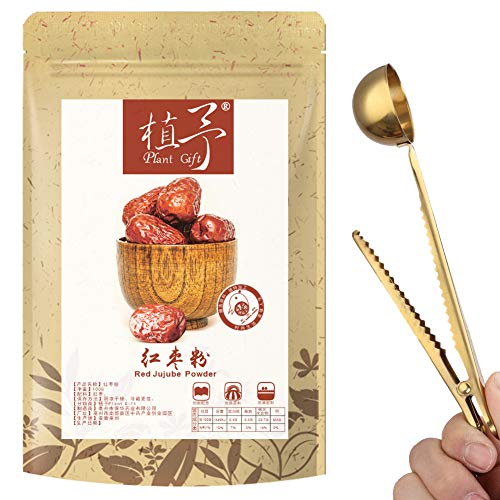 100% Pure Natural Plant Red Jujube Powder, Face Film Materials, Meal Powder, 100g Rich In Protein, Vitamin C, Whitening, Ruddy