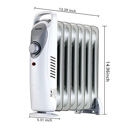 Homeleader Df 600h1 7 Oil Filled Radiator Heater Portable
