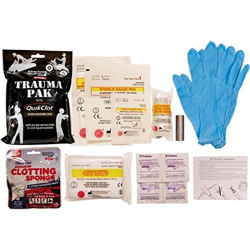 Adventure Medical Kits Trauma Pak w / QuikClot 25g sport 2064-0292 Black (2-PACK) Adventure Medical Trauma Pak