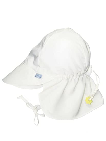 256f6d54c63 Amazon.com  Iplay Baby Infant Toddler Unisex Solid Color Flap Sun Hat    Beach Hat by Iplay  Clothing