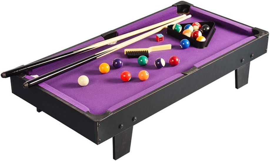 pool table MMM@ Mesa de Billar para el hogar Mesa de Billar Mini 3 años Juguetes educativos Regalo de cumpleaños Ejercicio Manos y Capacidad de Pensamiento de los niños Resistente y Duradero:
