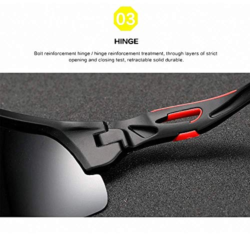 Windproof Polarized sunglasses For Fishing Cycling Hiking Travel Outdoor