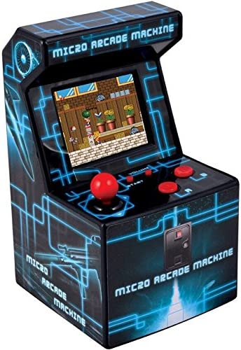 Amazon.es: ITAL Mini Recreativa Arcade (Azul) / Mini Consola ...