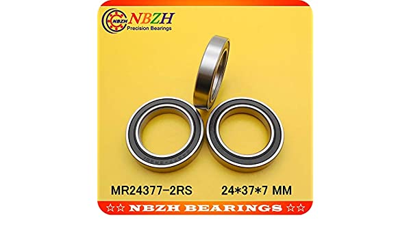 MR2437 24X37X7mm 2RS Si3N4 BB90 Bicycle Bike Cartridge Bearing