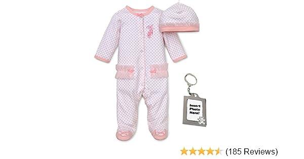984f2c88e Amazon.com  Little Me Preemie Newborn Baby Footie Sleep and Play ...