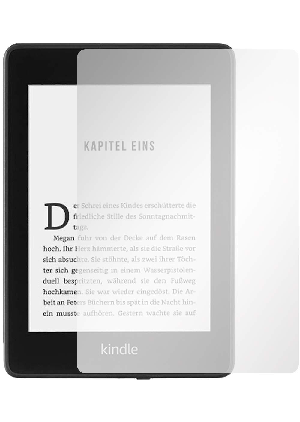 10. Generation Slabo 2 x Pellicola Protettiva per Display per Kindle Paperwhite 2018 Protezione Display Crystal Clear Invisibile Made in Germany