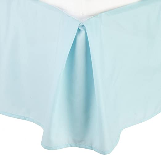 """Cosy House Collection Luxury Bed Skirt Pleated Dust Ruffle 14/"""" Tailored Drop"""