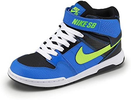 Zapatillas Nike – Sb Mogan Mid 2 Junior B Azul Photo/Verde Volt/Negro/Blanco 40: Amazon.es: Deportes y aire libre
