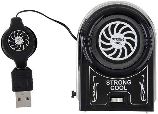 VCB Mini Aspirador USB Ventilador de extracción de Aire Ventilador ...
