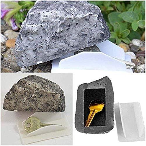 Outdoor Garden Hiding Storage  Safe Organizer Simulated Stone Fake Rock Key Box