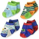 Baby Essentials Unisex Newborn Baby Booties Monster Character Critter Socks 0-6 Months