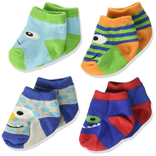 Baby Essentials Unisex Newborn Baby Booties Monster Character Critter Socks 0-6 Months]()