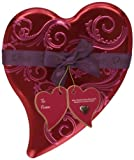 DOVE Chocolate Valentine's Dark Chocolate and Raspberry Truffle Hearts Candy 6.5-Ounce Heart Tin