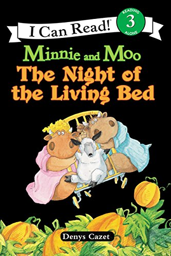 Minnie and Moo: The Night of the Living Bed (I Can Read Level -