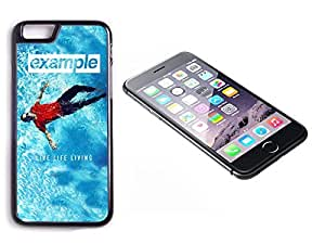 iPhone 6 Plus Black Plastic Hard Case with High Gloss Printed Insert Example