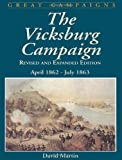 Front cover for the book The Vicksburg Campaign by David G. Martin