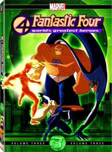 Fantastic Four - World's Greatest Heroes Volume 3 (Series 4 Fantastic)