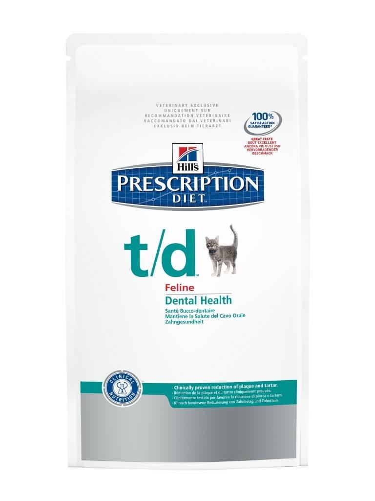 Hill's Pet Nutrition - Prescription Diet - t/d Disturbi al cavo orale - Base Sacco 1,50 kg