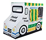 Pacific Play Tents Kids Cotton Canvas Food Truck Playhouse - 50'' x 26'' x 39.5''