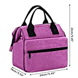 Srise Lunch Box Insulated Lunch Bag For Men &Women Meal Prep Lunch Tote Boxes For Kids & Adults(Pink)