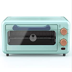 RUSE Mini Oven 11 Liters, Pizza Oven, Minute Timer, Removable Crumb Tray, Small Oven, Uniform Heating, 800 Watts
