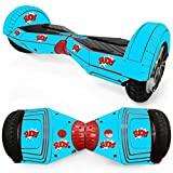Anboo Creative Protective Vinyl Skin Decal For 8'' Models Self Balancing Scooter Hoverboard 2 Wheels (D)