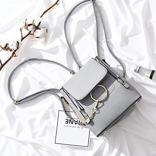 Amazon.com: DingXiong Women Bag Luxury Brand Back Packluxury Handbags Bags Designer Carteras Mujer Mochila Ring Multi-Functional: Garden & Outdoor