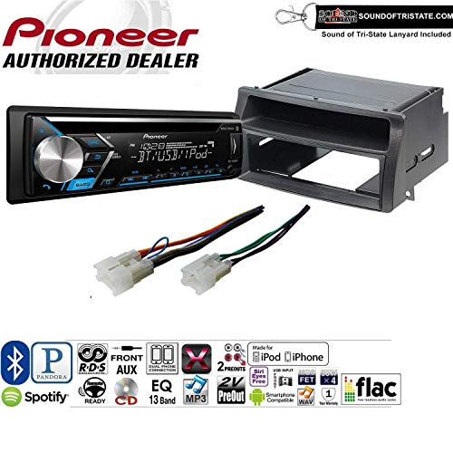 Pioneer DEH-S4000BT Double Din Radio Install Kit with Bluetooth, CD Player, USB/AUX Fits 2003-2008 Toyota Corolla Does NOT Work with JBL System (Renewed) ()