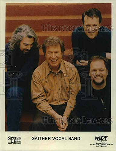 Vintage Photos 2000 Press Photo Four Members of The Band Gaither Vocal Band - sap12599
