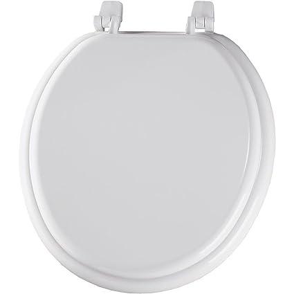 Astounding Bemis 30015 000 Round Closed Front Toilet Seat White Theyellowbook Wood Chair Design Ideas Theyellowbookinfo