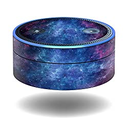 MightySkins Protective Vinyl Skin Decal for Amazon Echo Dot (1st Generation) wrap cover sticker skins Nebula