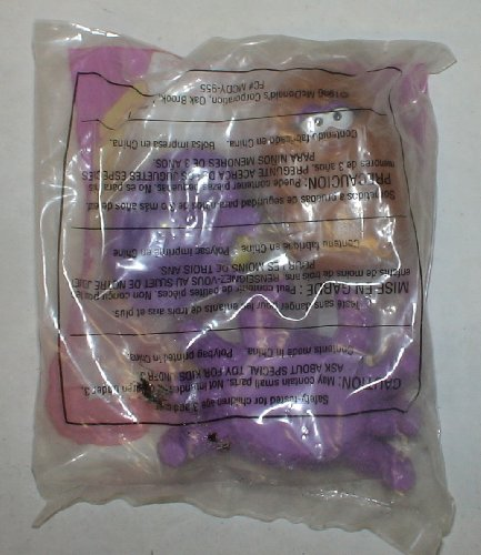 1990s Kids Meal Toy Unopened : Mcdonalds Halloween Mcnugget Spider -