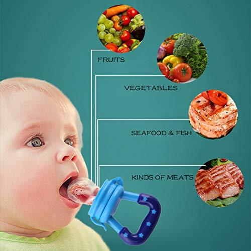 Baby Bites - Pañales de silicona para bebé, frutas y ...
