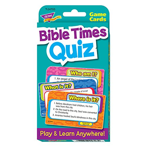 Bible Times Quiz Challenge Cards]()