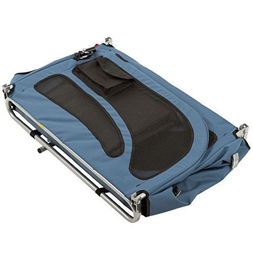 Rage Powersports PT-20304-B Blue 2-in-1 Pull-Behind Dog Bike Carrier Bicycle Pet Trailer ,1 Pack by Rage Powersports (Image #5)