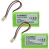 2X FLOUREON Ni-MH 1800mAh Battery for Sony NTM-910 NTM910 NTM-910YLW Sony Baby Call Nursery Monitor