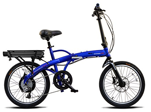 ProdecoTech Mariner 500 v5F 36V500W 9 Speed Electric Bicycle 11Ah Samsung Li ion, Royal Blue, 17/One Size