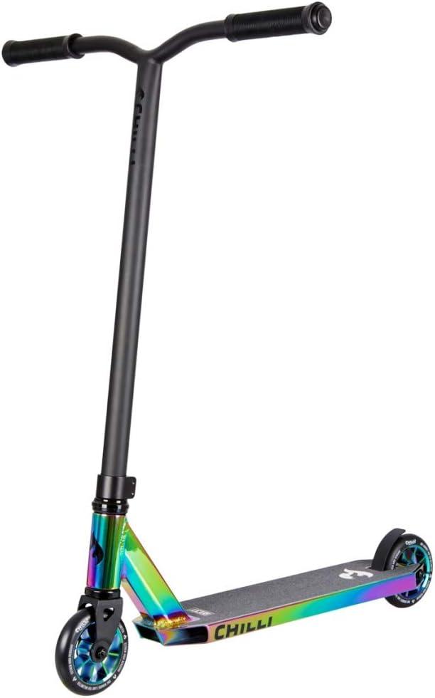 Chilli Rocky Scooter Limited Edition Erstklassiger Stunt-Scooter | Robuster Roller, drehbarer Lenker ideal für Tricks geeignet | Leicht & schnell für maximales Fahrvergnügen kaufen