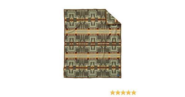 Pendleton Harding Jacquard Wool Bed Throw Blanket King Size Pendleton Woolen Mills 70056 5604 KING
