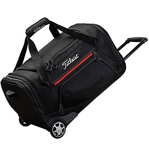Titleist Golf Wheeled Duffel Bag (Black) - 1