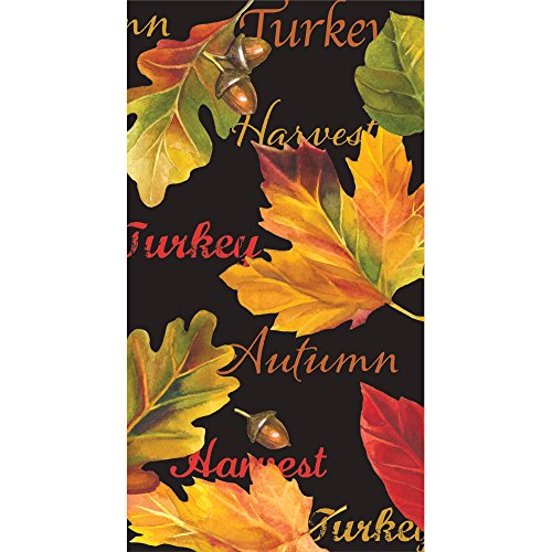 Creative Converting 317102 3-Ply Paper Guest Napkins (16 count), Autumn Expressions for $<!--$5.79-->