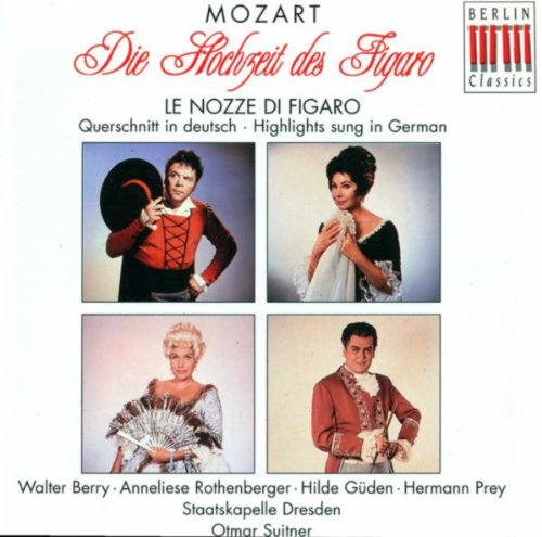 Mozart, W.A.: Nozze Di Figaro (Le) [The Marriage Of Figaro] [Sung In German] [Opera] [Suitner]
