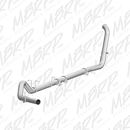 Amazon com: MBRP S6212PLM Turbo Back Single Side Off-Road Exhaust