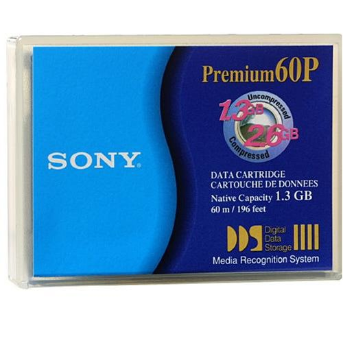 Sony DDS 1.3/2.6GB 4MM 60M Data Cart 1-Pack (Discontinued by Manufacturer) 1011844 Computer Peripherals