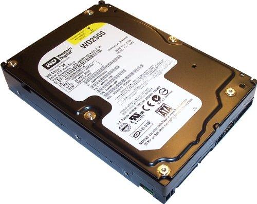 Caviar Sata Hard Disk Drive - Western Digital Caviar 250GB SATA Hard Drive 16 MB Cache ( WD2500KS )