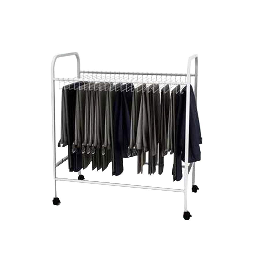 Pants Hangers JX Removable with Hooks and Pulley, Suitable for Home Cloakroom Closet Storage Trousers Artifact Rack (Size : 74×43×80cm) by Pants Hangers (Image #1)